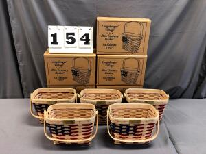 Longaberger Basket, Pottery & Wrought Iron Auction