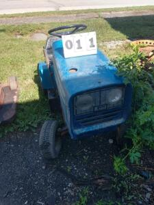 Old Blue 8HP riding mower for parts. (pickup only)