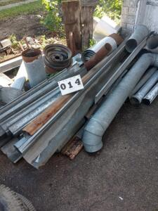 lot of old gutters & duct work. (pickup only)