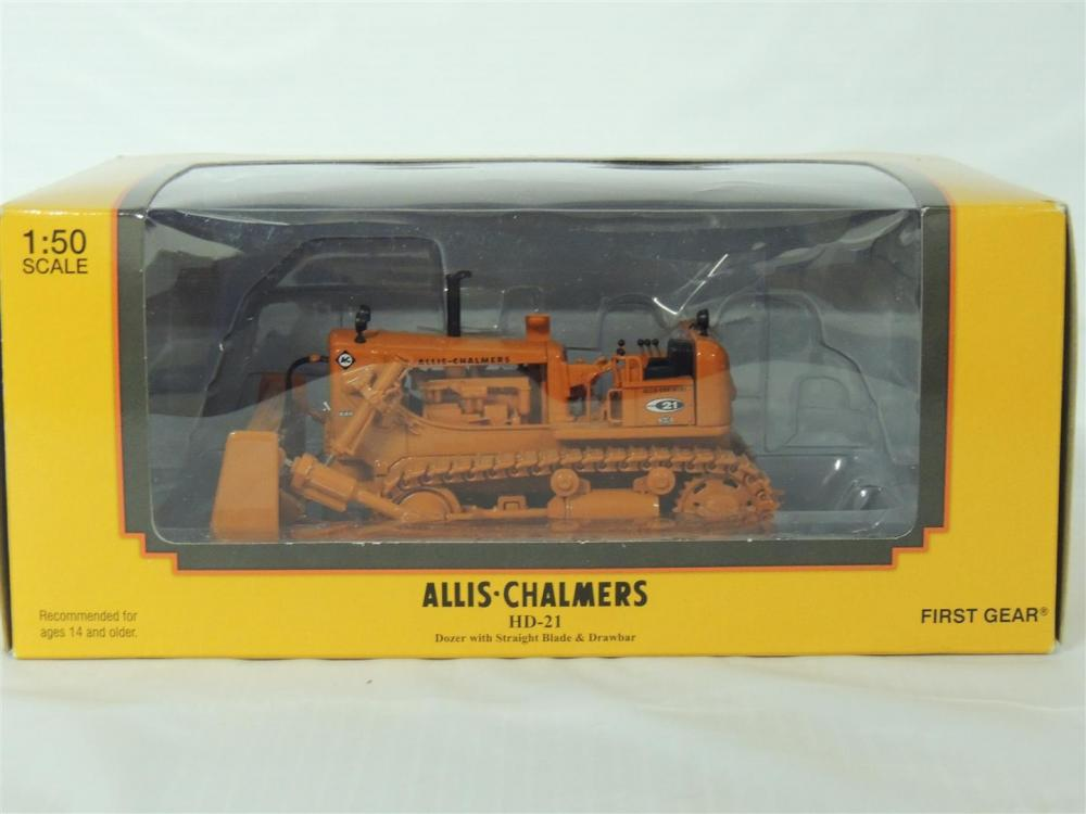 1/50th First Gear Allis-Chalmers HD-21 - Current price: $55