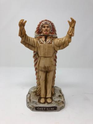 Chief Illiniwek #1 Collectable Decanter (1988)